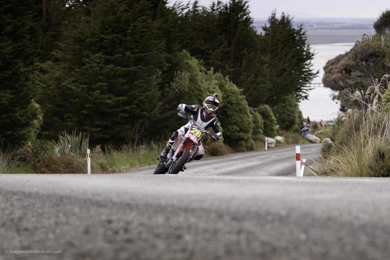 Bluff HIll Climb, Haydon South, Honda CRF 450, Motupohue, New Zealand, NZ Hill Climb Champs, Rider 28, Up to 600cc
