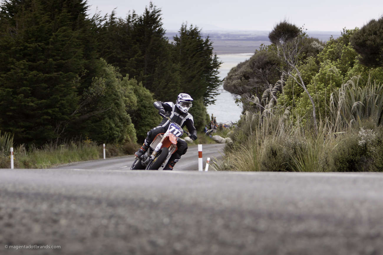 Bluff Hill, Bluff HIll Climb, Burt Munro Challenge, Donald McConochie, Honda CRF 450, Motupohue, New Zealand, NZ Hill Climb Champs, Rider 717, Up to 600cc, 10 year Anniversary event, Thursday 26 November 2016