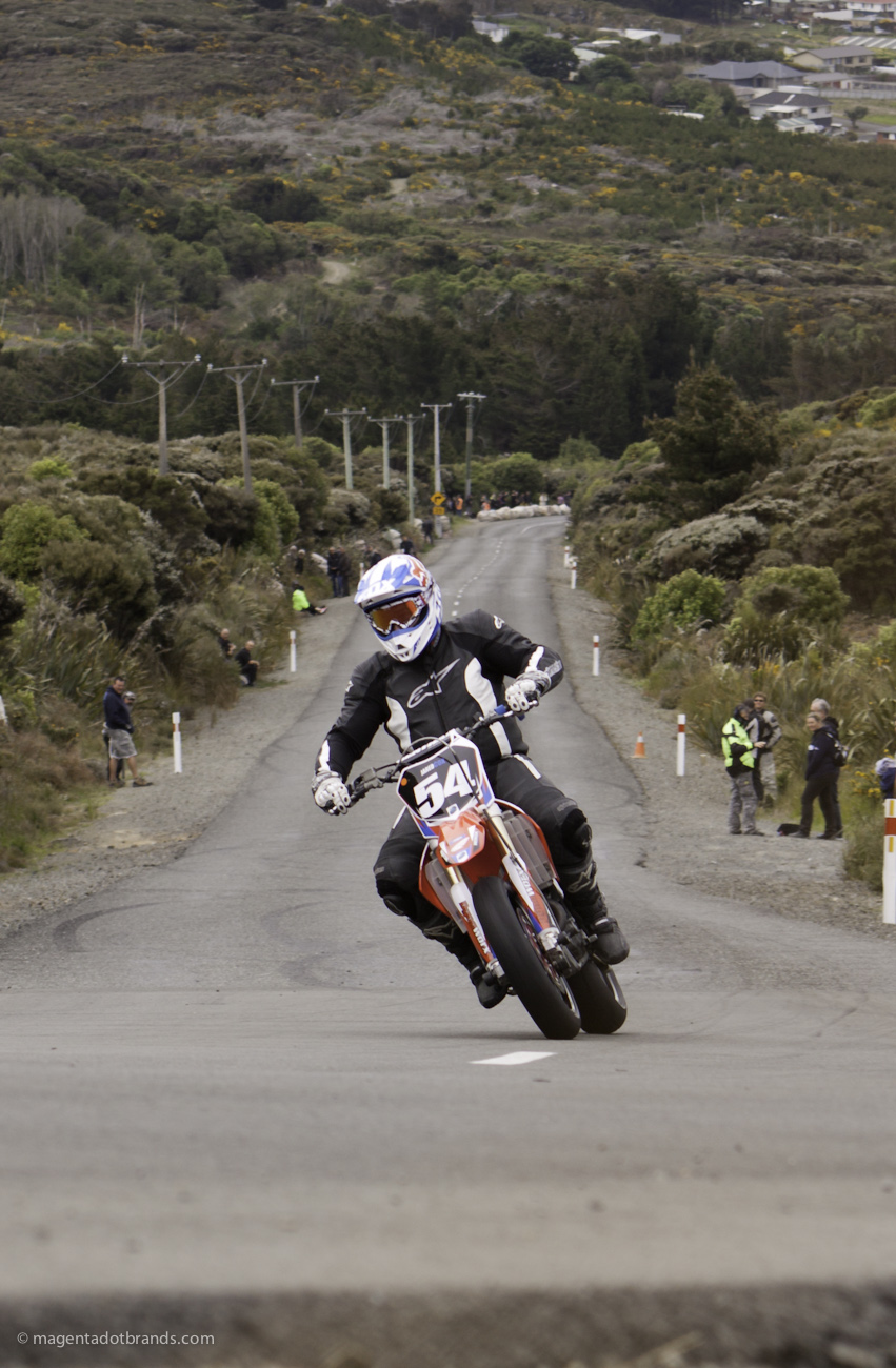 Bluff HIll Climb, Honda CRF 450, Jared Cox, Motupohue, New Zealand, Bluff Promotions NZ Hill Climb Champs, Rider 54, Up to 600cc, Burt Munro Challenge 2015 ,10 year Anniversary event, Thursday 26 November 2016