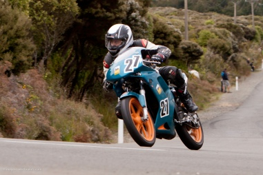 Bluff HIll Climb, Honda NSR 150, Motupohue, New Zealand, NZ Hill Climb Champs, Rider 27, Stephen Winteringham