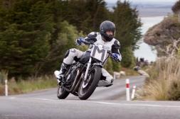 Bluff Hill, Bluff HIll Climb, Burt Munro Challenge, Kawasaki GPX 250, Mark Robertson, New Zealand, NZ Hill Climb Champs, Rider M