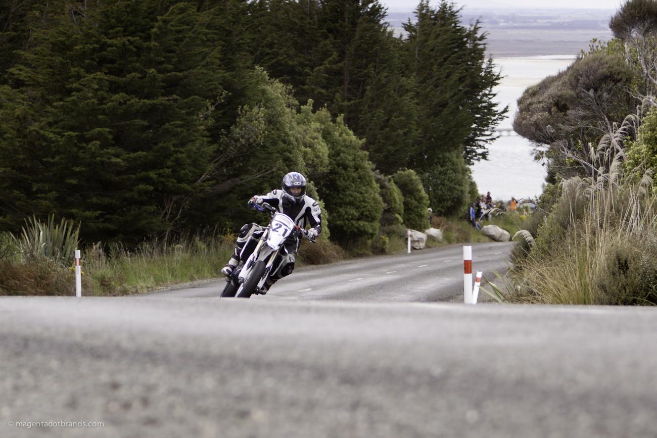 Bluff HIll Climb, Mike Talbot, Motupohue, New Zealand, NZ Hill Climb Champs, Rider 21, Up to 600cc, Yamaha YZ 450