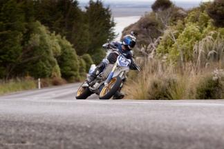 Bluff HIll Climb, Motupohue, New Zealand, Bluff Promotions NZ Hill Climb Champs, Rider 129, Robert Goodman, Up to 600cc, Burt Munro Challenge 2015,10 year Anniversary event, Thursday 26 November 2016, Yamaha YZF 450