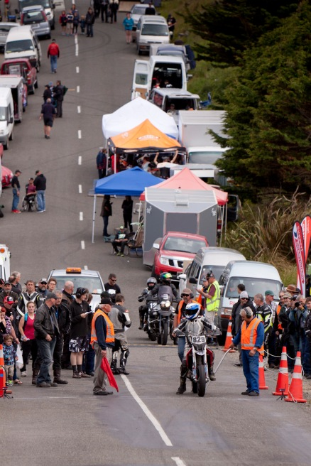 Aprilia SXV 550, Barry Summers, Bluff HIll Climb, Burt Munro Challenge, Flagstaff Road, Motupohue, New Zealand, NZ Hill Climb Champs, Open Class, Rider 829