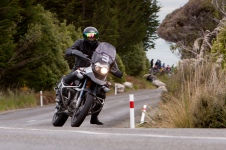 Bluff HIll Climb, BMW GS 1150, Burt Munro Challenge, Flagstaff Road, Motupohue, New Zealand, NZ Hill Climb Champs, Open Class, Rider 3, Stephanie Rondel