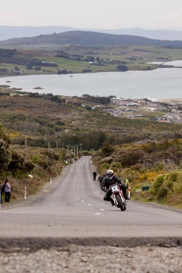 Bluff HIll Climb, Burt Munro Challenge, Classic Pre '89, Ducati SS 750, Garry Jamieson, New Zealand, NZ Hill Climb Champs, Rider 13