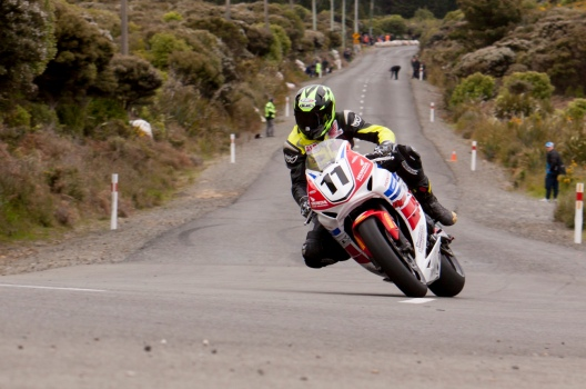 Bluff HIll Climb, Burt Munro Challenge, Flagstaff Road, Honda CBR 1000, Motupohue, New Zealand, NZ Hill Climb Champs, Open Class, Rider 11, Tony Rees