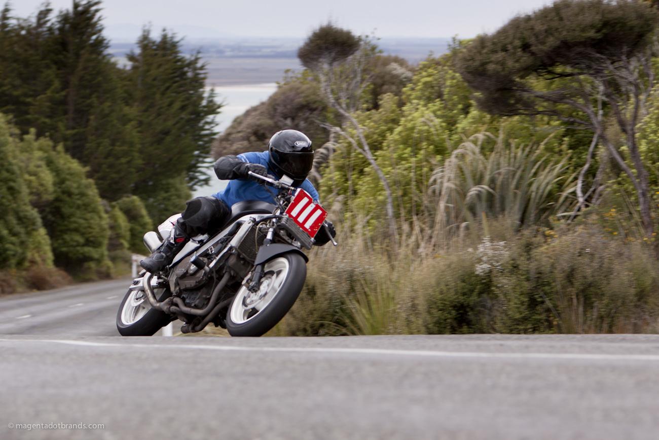 Bluff HIll Climb, Honda VFR 700, New Zealand, NZ Hill Climb Champs, Ricky Stewart, Rider 111