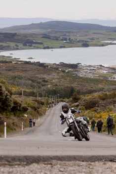 Bluff HIll Climb, Mark Robertson. Kawasaki GPX 250, Motupohue, New Zealand, NZ Hill Climb Champs, Rider M