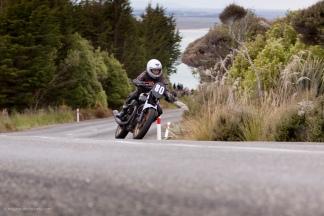 Bluff HIll Climb, Burt Munro Challenge, Classic Pre '89, Moto Guzzi Le Mans MK5 956, New Zealand, NZ Hill Climb Champs, Rider 80