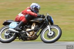 AJS 7R 350, Bill James, Burt Munro Challenge, Rider 141, Teretonga Circuit races