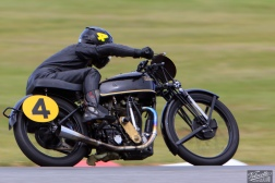 Big Velo 500, Bill Biber, Classic Pre '63 with Girder Forks, Practice Day, Practice Racing, Rider 4, Teretonga Circuit practice day, Velocette