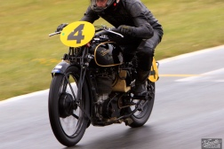 Big Velo 500, Bill Biber, Burt Munro Challenge, Classic Pre '63 with Girder Forks, Rider 4, Teretonga Circuit races, Velocette
