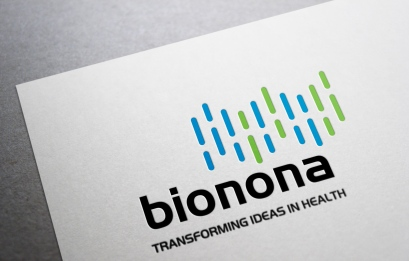 Logo and positioning statement for manufacturer and marketer of products born of biotech research