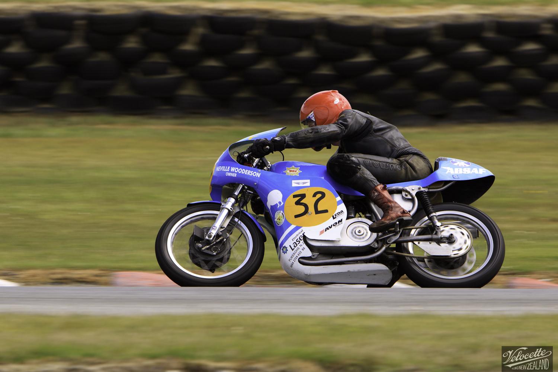 BSA Goldstar 500, Burt Munro Challenge, Chris Swallow, Classic Pre '63, Rider 32, Teretonga Circuit races