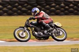 BSA Goldstar 500, Burt Munro Challenge, Classic Pre '63, Graham Peters, Rider 85, Teretonga Circuit races