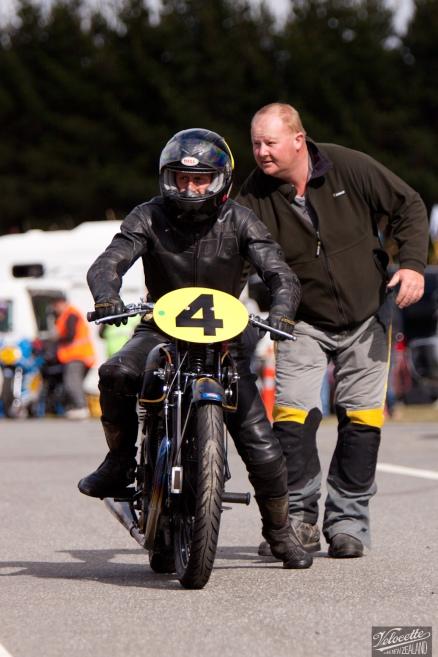Big Velo 500, Bill Biber, Burt Munro Challenge, Classic Pre '63 Girder Forks, Rider 4, Teretonga Circuit races, Velocette