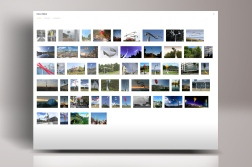 Eight year location photography project documenting Phil Price's kinetic works, culminating in portfolio website