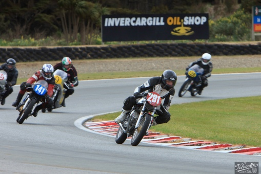 Burt Munro Challenge, Classic Motorcycle Racing, New Zealand, Post Classic Pre '72, Teretonga Circuit races