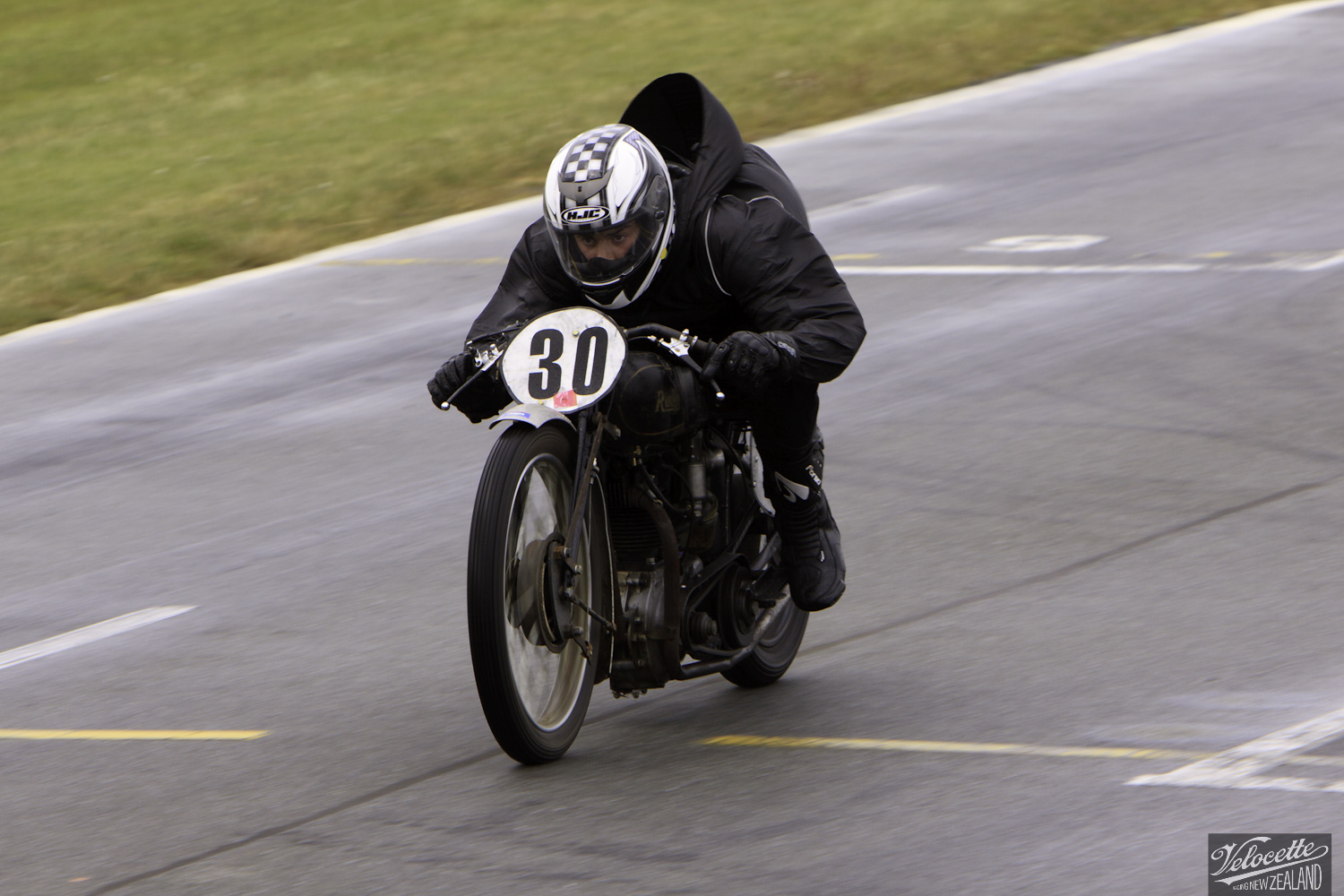 Burt Munro Challenge, Classic Pre '63 with Girder Forks, Michael Wilson, Rider 30, Rudge Special 350, Teretonga Circuit races