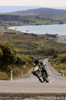 Bluff Hill, Bluff HIll Climb, Burt Munro Challenge, Flagstaff Road, Motupohue, New Zealand, NZ Hill Climb Champs, Rhys Wilson, Rudge Ulster 500