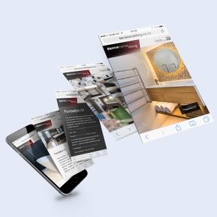 Terranova tiling | New identity, web design