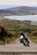 Bluff HIll Climb, Bruce Aitken, Burt Munro Challenge, Flagstaff Road, Motupohue, New Zealand, NZ Hill Climb Champs, Rider 238, Triton Triton 650