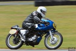 Burt Munro Challenge, Classic Motorcycle Racing, Classic Pre '63, New Zealand, Rider 128, Stuart McElrea, Teretonga Circuit races, Triumph 5TA 500