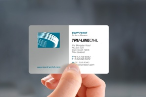 Tru-Line Civil business card