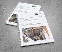 TruLine case study documents, A4, wire-o bound