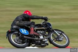 Big Velo 500, Burt Munro Challenge, Chris Swallow, Classic Pre '63 with Girder Forks, KTT 350, KTT MK VIII, Rider 32, Teretonga Circuit races, Velocette