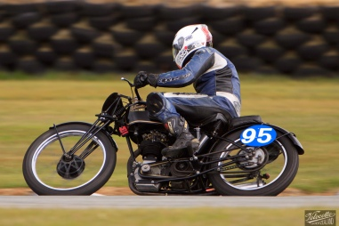 Burt Munro Challenge, Classic Pre '63 with Girder Forks, Teretonga Circuit races, Velocette