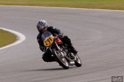 Burt Munro Challenge, Classic Motorcycle Racing, Cloud Craig-Smith, New Zealand, Post Classic Pre '72, Rider 231, Teretonga Circuit races, Weston Weslake Norton Special 500