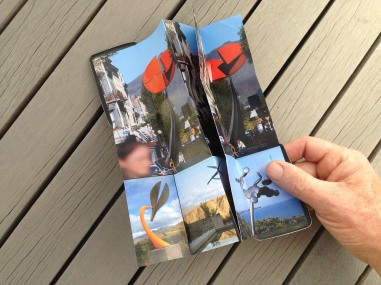 A pocket-size showcase brochure in a custom carbon fibre clam for the kinetic sculptures of Phil Price