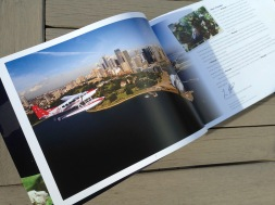 Pionair Unparalleled Journeys travel brochure, booklet format. Dear Pionair traveller letter spread.