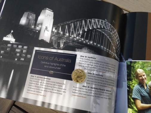 Pionair Unparalleled Journeys travel brochure, booklet format. travel tailormade for you, Icons of Australia, Definitive highlights of the land downunder.
