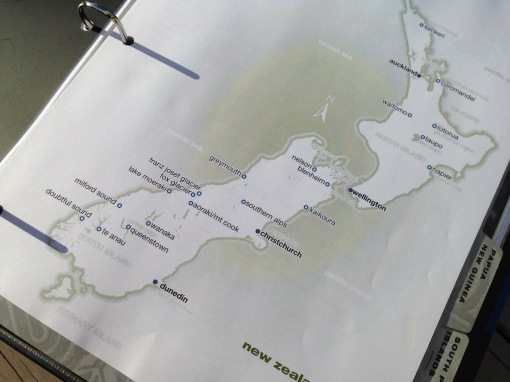 New Zealand custom map.
