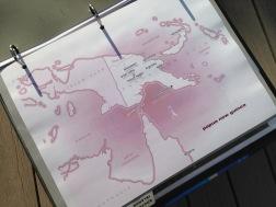 Papua New Guinea, Gulf of Carpentaria custom map.