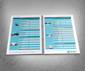 Typical TruLine Resources table. TruLine Civil Tender bid document