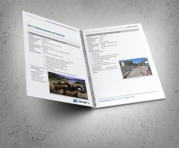 Typical Relevant Experience and Track record spread. TruLine Civil Tender bid document