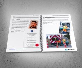 TruLine Civil tender bid document two key personnel CVs