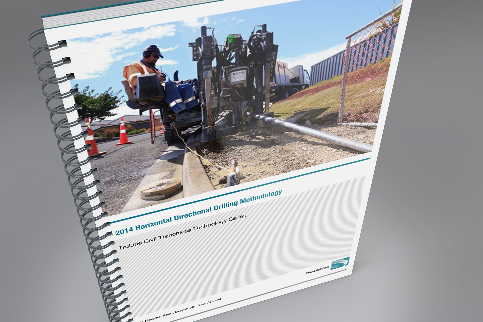 TruLine Capabilities Profile document, Horizontal Directional Drilling Methodology front cover.