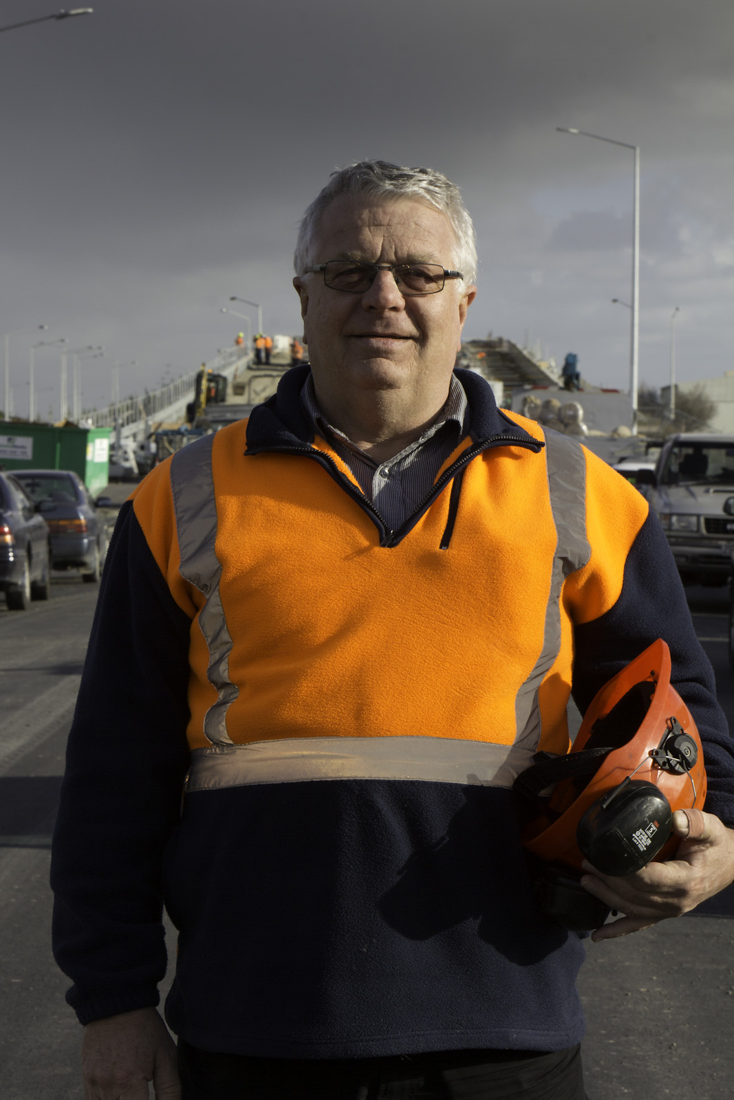 TruLine Civil. On-the-job portraits; Geoff Powell.