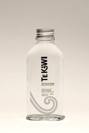 Silver Cloud Te Kiwi 100ml sampler bottle labelling.