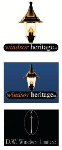 Legacy Windsor Heritage logos.