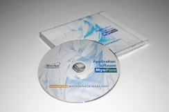 MyyoPace software CD and jewel case.