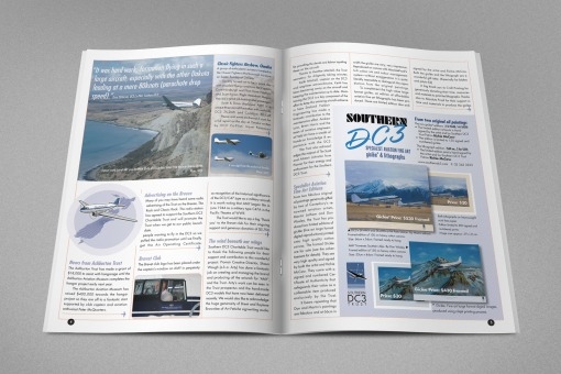 Southern DC3 Newsletter, Spring 2007, pages 4 & 5.