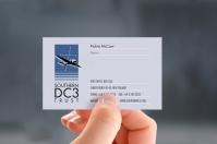 Southern DC3, Richie McCaw, Patron, business card