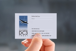 Southern DC3, Richie McCaw, Patron, business card
