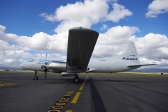 Pionair Australia Convair VH-PDW at Launceston, Tasmania, Australia.